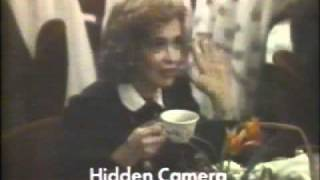 1986 Folgers coffee commercial.  Featuring the Tavern on the Green restaurant in New York City.