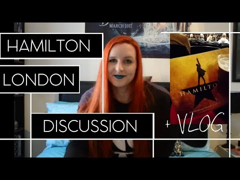 I SAW HAMILTON WEST END ☆ // Review + London Vlog