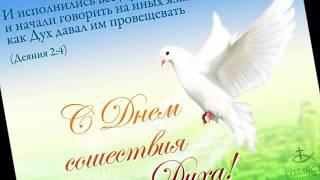 С Днем сошествия Святого Духа! (в день пятидесятницы)