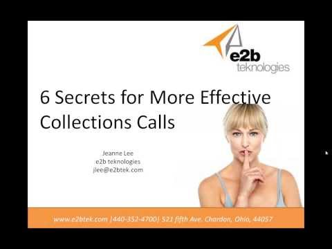 Collection Call Best Practices | Accounts Receivable Best Practices