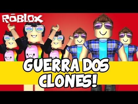 A GUERRA DOS CLONES! – Roblox (Clone Tycoon 2)