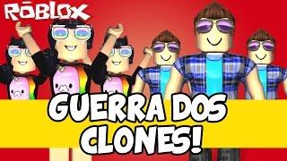 UN GUERRA DOS CLONES! - Roblox (Clone Tycoon 2)