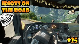 ★ IDIOTS on the road #25 - ETS2MP | Funny moments - Euro Truck Simulator 2 Multiplayer