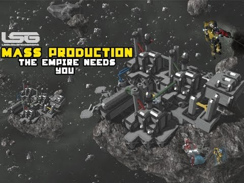 Space Engineers - Mass Production & Trade Industry, Industrial Facility Factories