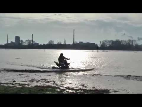 Yamaha Raptor is a Quad and Jetsky in one