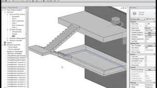 Расчет и моделирование лестницы(