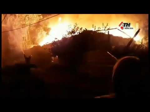 АТН Харьков: Масштабный пожар в районе Центрального рынка - 25.09.2020