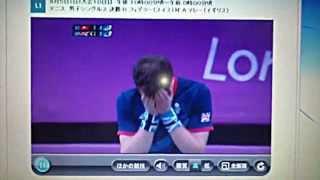 マレー ロンドン五輪金メダルの瞬間!