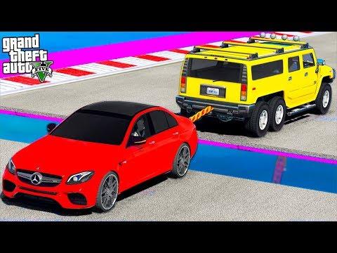 СМОЖЕТ ЛИ MERCEDES E63S AMG ПЕРЕТЯНУТЬ BMW M5 F90! ГТА 5 МОДЫ!