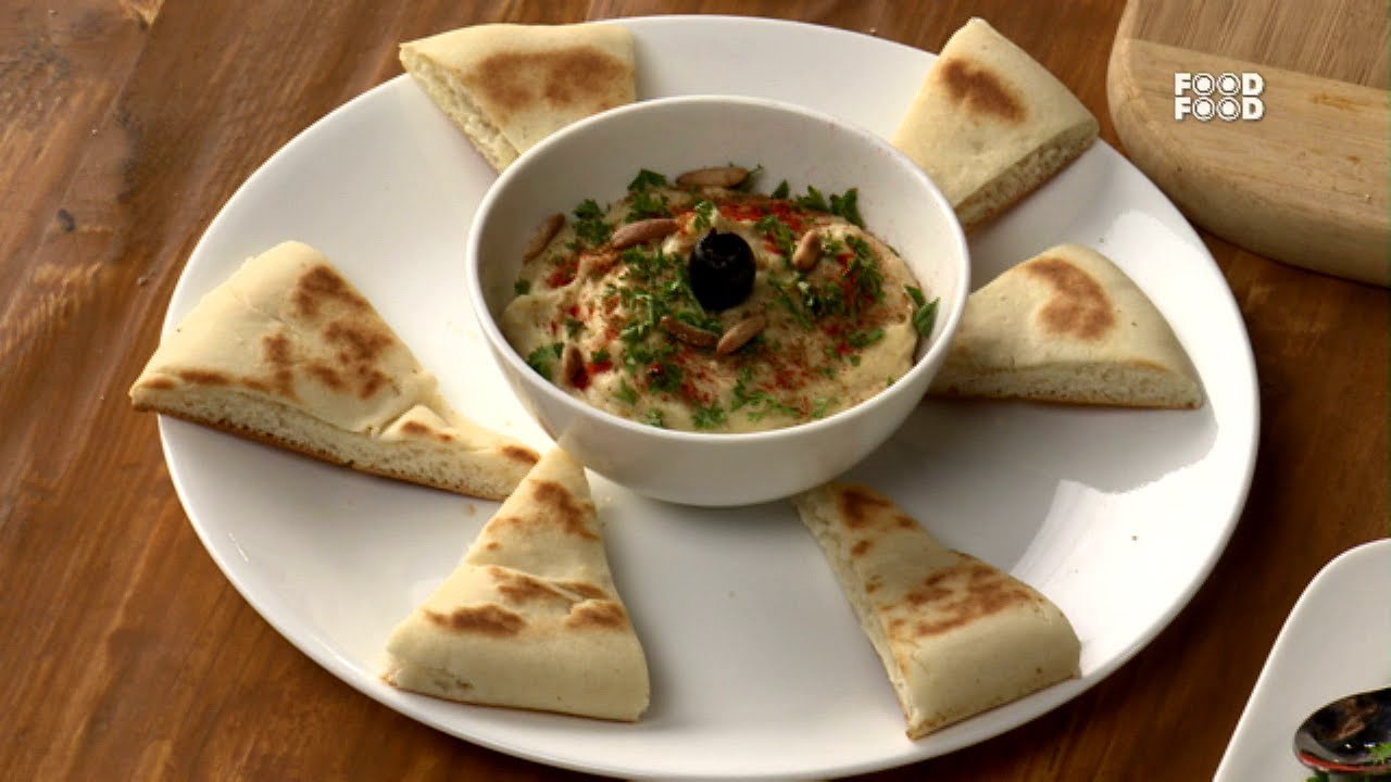 Hummus With Pita Bread Mummy Ka Magic Youtube