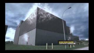Nuclear power plant spent fuel rods overheating and meltdown