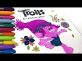 TROLLS Coloring | Poppy