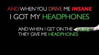 Headphones- Dirty Heads (animated lyrics)