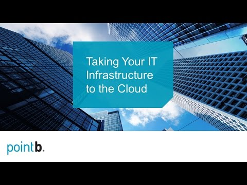 Taking Your IT Infrastructure to the Cloud   webinar replay