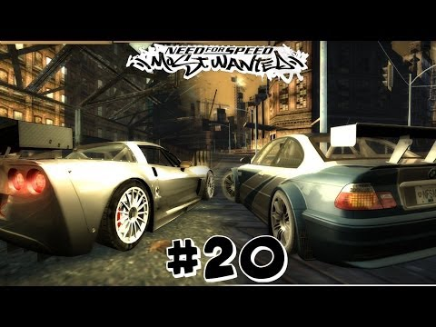 Need For Speed Most Wanted 2005 | Let's Play | BUSTED BY SPIKE STRIPS!! | Part 20