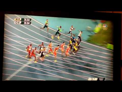 Jamaica 4x100 WIN RIO OLYMPICS 2016