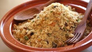 Couscous Recipe W/ Fruits, Nuts, Carrots (north African Feast Menu Part 4) || Kin Eats
