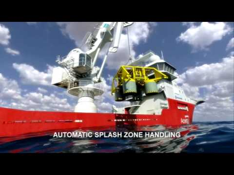 TTS subsea crane with active heave compensation (AHC)