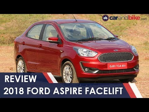 Ford Aspire Facelift Sub-Compact Sedan Review | NDTV carandbike