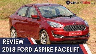 Ford Aspire Facelift Sub-Compact Sedan Review | NDTV carandbike