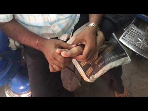 World's Best Foot Massage At Pushkar India Part-1| 4K