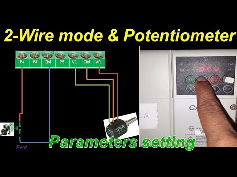L T Cx2000 2 Wire Mode Potentiometer Parameters Setting Hindi Youtube