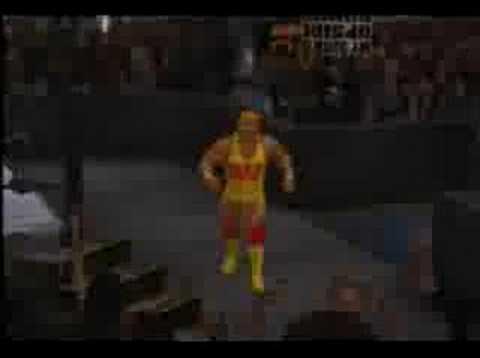 Hulk Hogan SvR 2007 entrance - YouTube