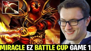 Miracle Ember Spirit EZ Battle Cup Game 1