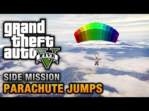 GTA 5 - All Parachute Jumps [100% Gold Medal Walktrough]