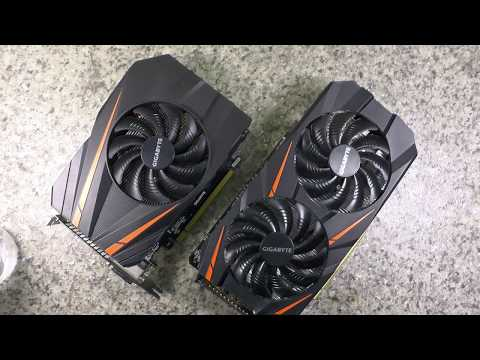 Gigabyte GTX 1060 Mini ITX vs Windforce