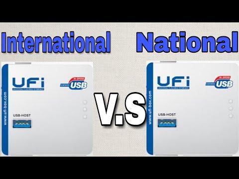 UFI Box International Rs 19000 UFI Box National Rs 16000