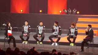 2013 Consadole Preview Party その5(全10本) ~選手インタビュー 〜前編
