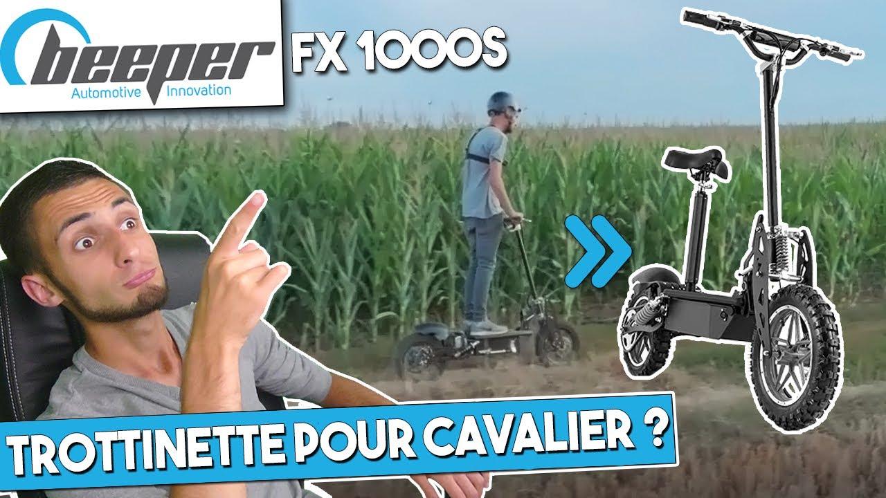 BEEPER FX1000S LA TROTTINETTE IDÉAL POUR CAVALIER ?