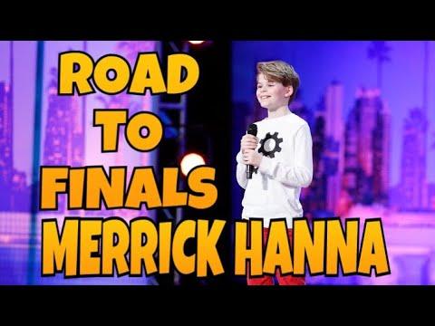 Merrick Hanna - Road to Finale   All Performances   America's Got Talent 2017   Talent Worldwide