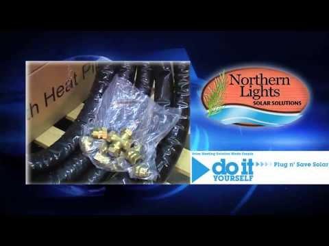 Northern Lights Solar Heating - DIY Pre-Engineered Solar Water Heating Packages