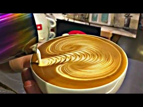 Amazing Cappuccino Latte Art 2018 The Most Satisfying Coffee Video