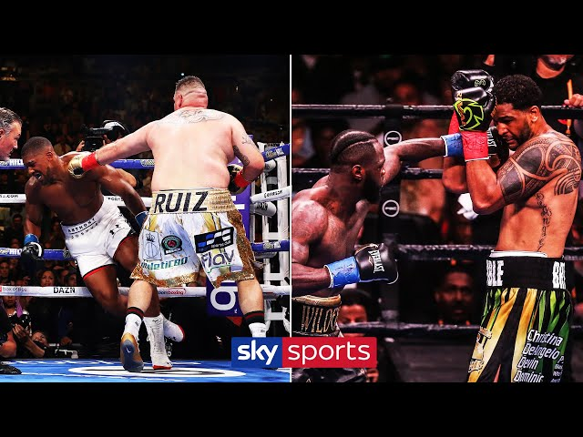 Six of the best KNOCKOUTS from 2019! | Andy Ruiz Jr, Deontay Wilder, Dereck Chisora & more!