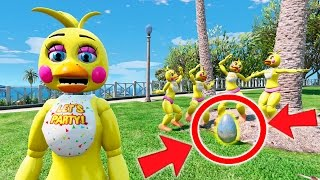 GUESS WHAT CHICA'S BIGGEST SECRET IS! (GTA 5 Mods For Kids FNAF Funny Moments)