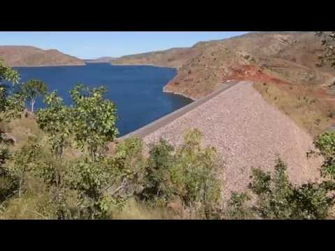 Ord River Dam Wall - Lake Argyle WA Australia