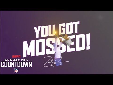 Randy Moss shows highlights of people getting