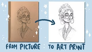 How I Edit Pictures of My Drawings on my phone screenshot 1