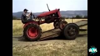 Тракторный стиль вождения никто не отменял! ПРИКОЛ