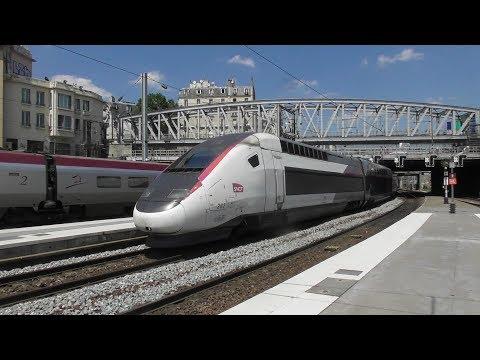 Trains at Paris Gare Du Nord 4/7/17