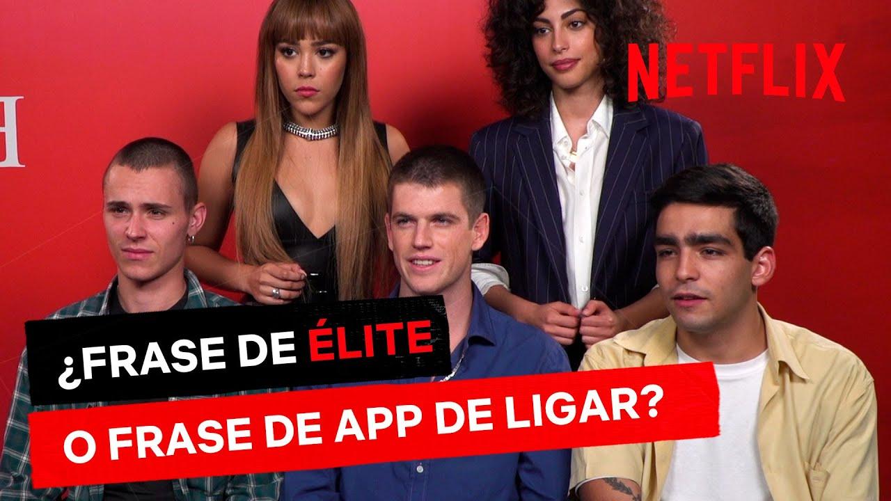 Frase De élite O Frase De Una App De Ligar Netflix España
