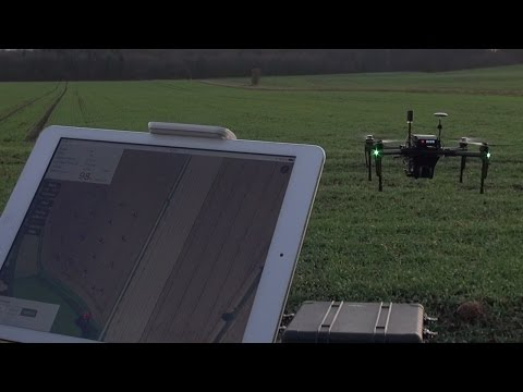 RoboWeedSupport - Weed Mapping with drones using a DJI Matrice 100 with a Velodyne Lidar.