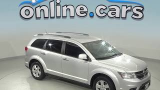 C96481RO Used 2012 Dodge Journey SXT FWD 4D Sport Utility Silver Test Drive, Review, For Sale