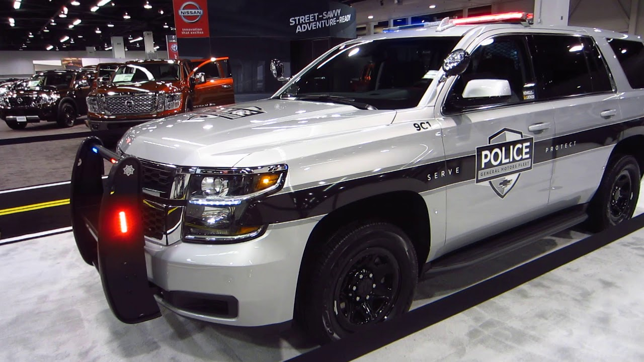 2018 chevrolet police vehicles. wonderful 2018 2017 oc auto show  new 2018 gm chevrolet suburban police vehicle  anaheim california on chevrolet police vehicles