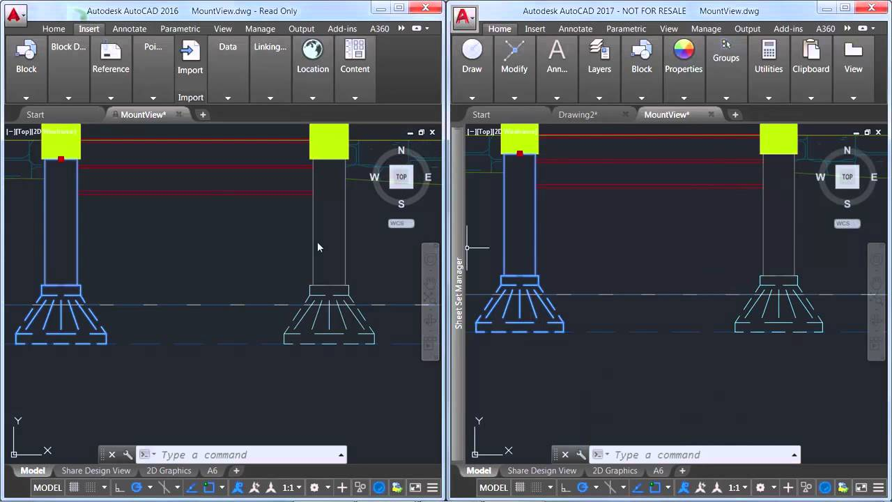 AutoCAD 2017 2D Graphics Upgrade AutoCAD - YouTube