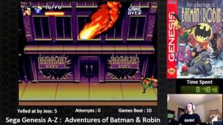 Sega Genesis A Z : Adventures Of Batman & Robin  (journey To Beat Every Sega Genesis Game)