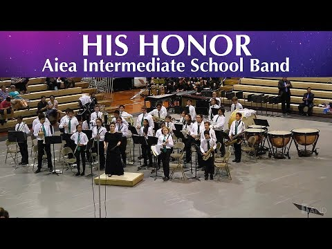 His Honor | Aiea Intermediate School Band | 2018 South POB